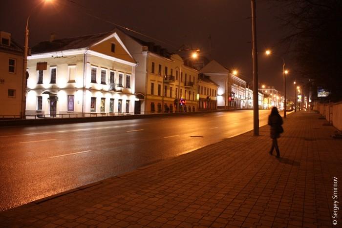Прогулки по вечернему Минску
