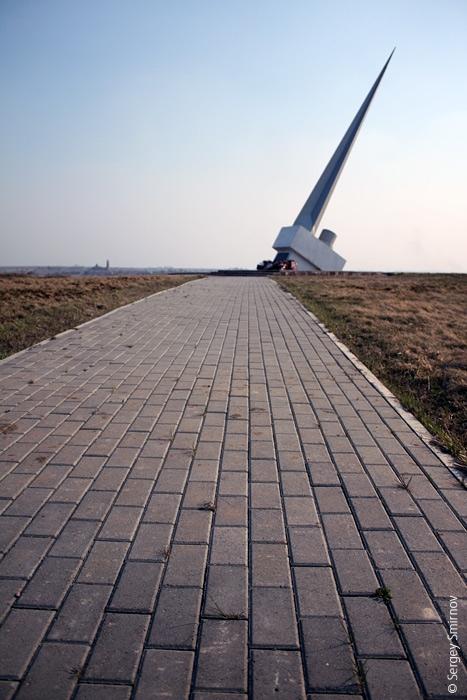 Это еще одна живописная фотография монумента