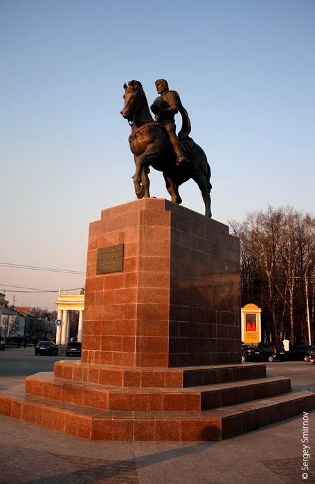 Олег Рязанский на коне